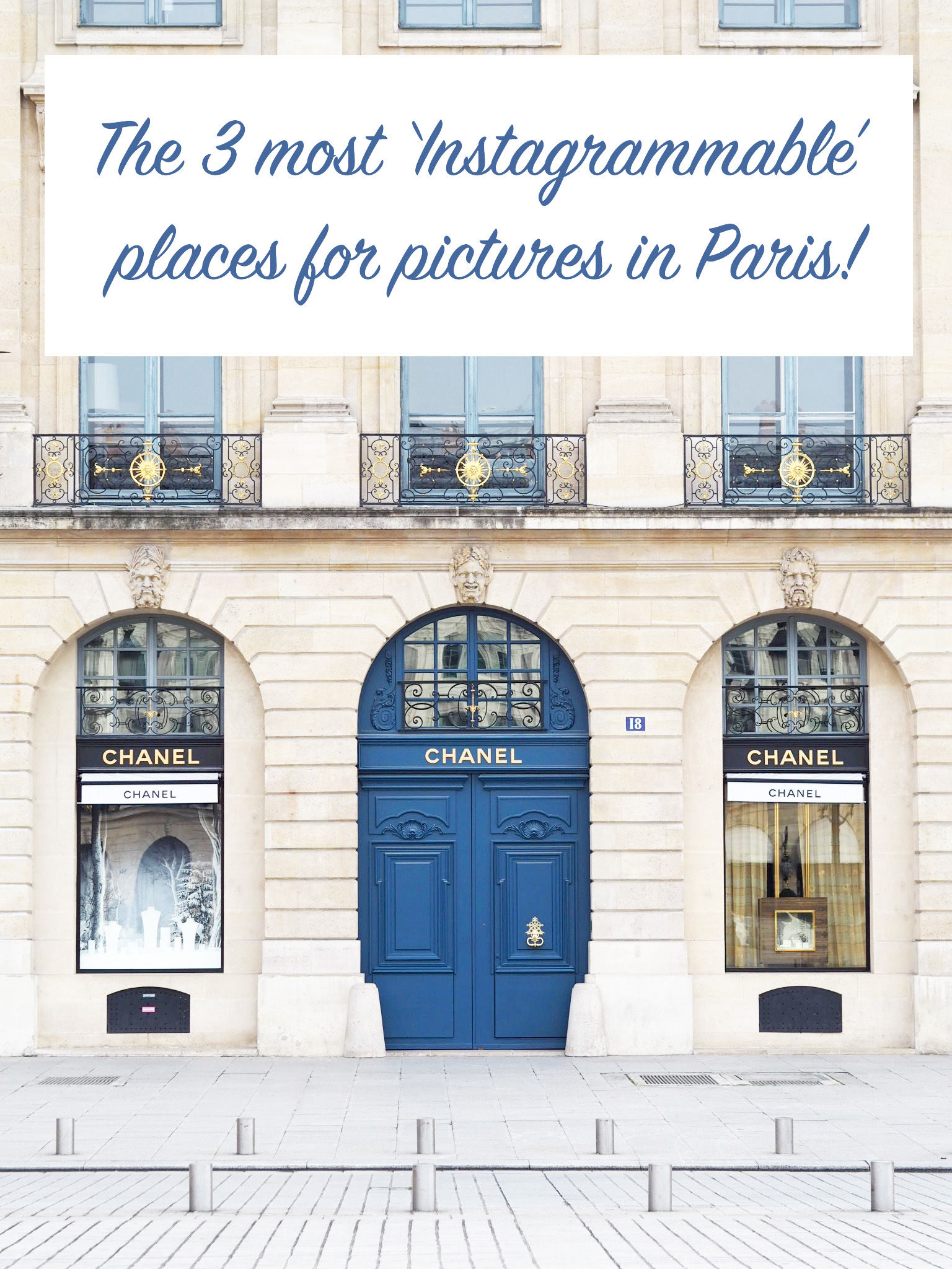 Paris Instagrammable Places