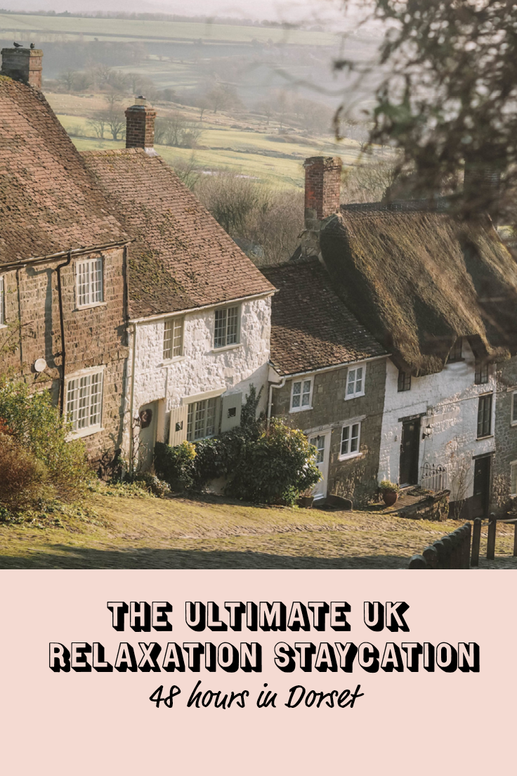 FMIF Ultimate UK Relaxation Staycation - 48 hours in dorset